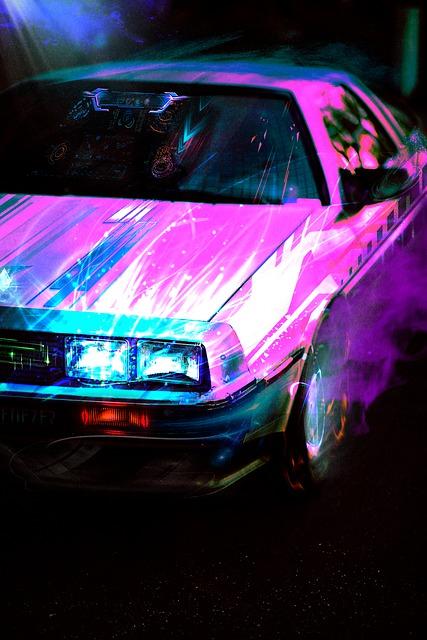 Kolorysta samochodowy
